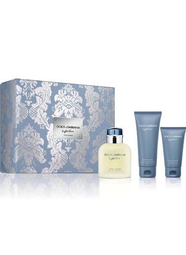 Dolce&Gabbana Dolce Gabbana Light Blue EDT 125 ml Erkek Parfüm Seti Renksiz